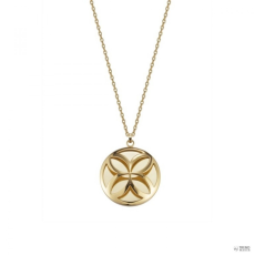 Esprit Damen Kette Edelstahl gold Thriving Flora ESNL12455B800