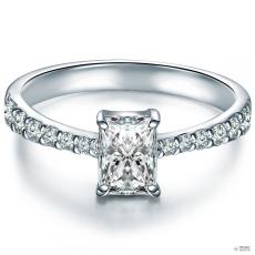 Tresor Ring Sterling Silber Zirkonia weiß Ringgröße: 60