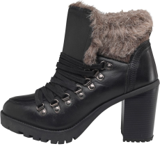 Firetrap női bokacsizma - Firetrap Womens Quarry Boots - fekete