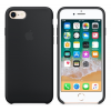 Apple iPhone 8/7 gyári szilikon hátlap tok, fekete, MQGK2ZM/A