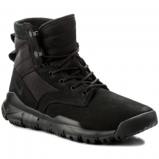 Nike Cipő NIKE - Sfb 6'' Nsw Leather 862507 001 Black/Black/Black