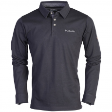 Columbia Fields of Grey Long Sleeve Polo Hosszú ujjú póló D (AO6387-r_011-Shark)