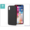 Devia Apple iPhone X hátlap - Devia Ceo 2 - black