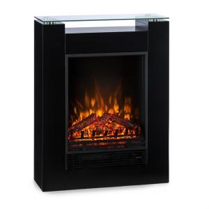 Klarstein Studio 5 elektromos kandalló, fűtőventilátor, 900/1800 W, távirányító, fekete