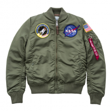 Alpha Industries Ma 1 Vf Nasa női kabát 168007 01