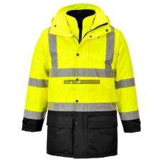 Portwest S768 5 az 1-ben vezetői dzseki (sárga/fekete)