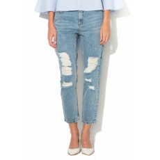 Only , Kelly Mom Farmernadrág, Világoskék, W28-L34 (15143000-MEDIUM-BLUE-DENIM-W28-L34)