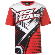 No Fear férfi póló - Red Stripes - No Fear Motocross Graphic T Shirt Mens
