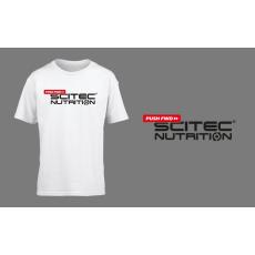 Scitec Nutrition Pushfwd póló - fehér