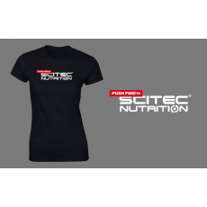 Scitec Nutrition Pushfwd női póló - fekete