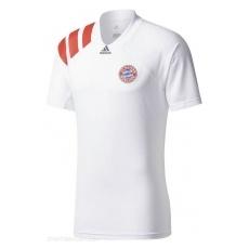 Adidas Bayern Mnichov fĂŠrfi póló trĂŠning white - M
