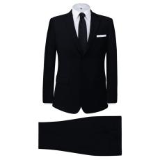 vidaXL két darabos férfi öltöny méret 46 fekete
