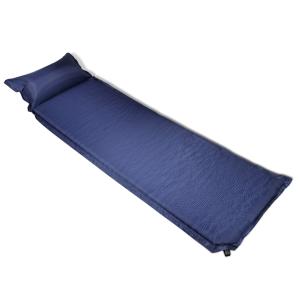 vidaXL Gumimatrac 6 x 66 220 cm Kék Felfújható párna