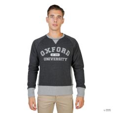 Oxford University férfi pulóver OXFORD-garbó-RAGLAN-szürke