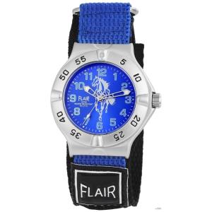 Flair férfi óra karóra TextilTépőzáras Fekete