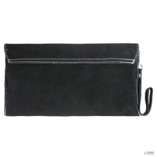 Miss Lulu London E1405 - Miss Lulu Suede Envelope Táska Clutch táska fekete