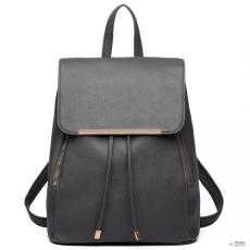 Miss Lulu London E1669 - Miss Lulu szintetikus bőr stílusos divat hátizsák táska szürke