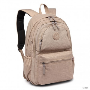 Miss Lulu London E1733 - több rekesz funkcionális vízállóság hátizsák táska Khaki
