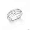 S.Oliver ékszer Női gyűrű ezüst cirkónia ezüst SO1319 56 (17.8 mm Ă?)