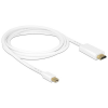 DELOCK Cable mini Displayport 1.1 male HDMI-A male 2 m