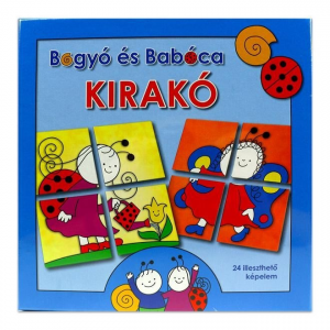 Bogyó és Babóca: Kirakó játék