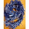 Kék , 260 cm hosszú boa