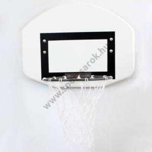 S-Sport Kosárlabdapalánk, óvodai, 60 x 45 cm gyűrűvel, hálóval kompletten,bordásfalra S-SPORT