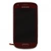 Samsung Gyári Samsung i8190 S3 mini LCD modul vörös színben