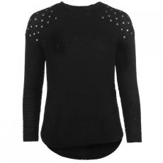 Lee Cooper szegecses vállú pulóver