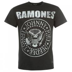 Firetrap Blackseal Ramones póló férfi