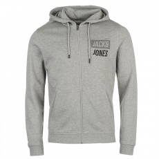 Jack and Jones Core Identity cipzáras kapucnis pulóver