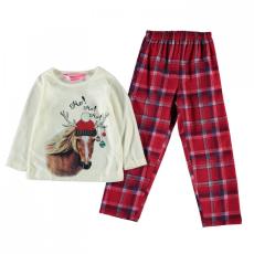 XMAS Festive Ho Ho Pyjamas gyerek lány