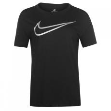 Nike Swoosh Metallic póló női