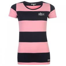 SoulCal Yarn Dye Stripe póló női
