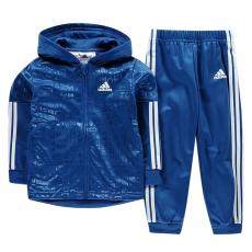 Adidas 3 Stripe Hooded melegítő szett gyerek fiú