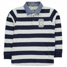Crafted Striped Rugby Top gyerek fiú