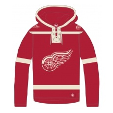 47 Brand Detroit Red Wings fĂŠrfi pulóver Lacer Hood - XL