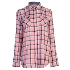 SoulCal női ing - SoulCal LS Check Shirt - pink kockás