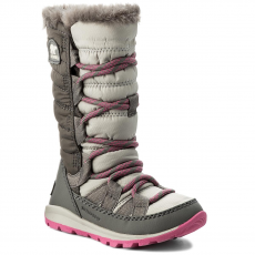 SOREL Hótaposó SOREL - Children's Whitney Lace NC1895 Pink Ice/Quarry