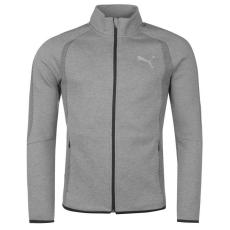 Puma EvoStripe Ultimate férfi cipzáras pulóver szürke M