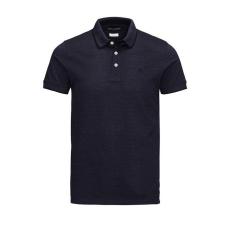 Jack and Jones Premium Paulos Nos férfi galléros póló mélykék XL