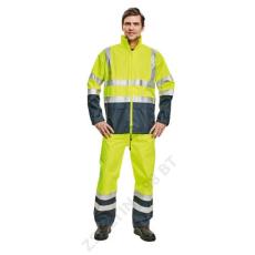 Cerva EPPING kabát, sárga/kék