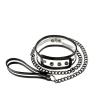 Bare Bondage Collar & Leash (18″)