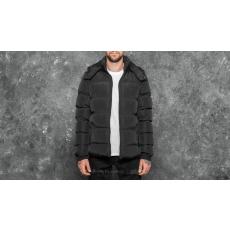 Urban Classics Hooded Puffer Jacket Black