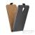 Flip szilikon belső Flip tok szilikon belsővel, Xiaomi Mi A1, fekete