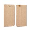 TOPTEL Kabura Vennus Samsung Galaxy S8 oldalra nyíló tok kerettel, arany