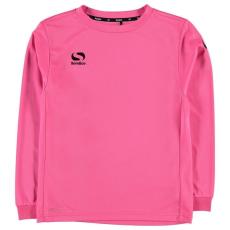 Sondico gyerek hosszú ujjú felső - pink - Sondico Classic Long Sleeve T Shirt Junior Boys