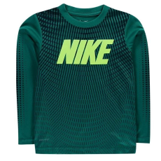 Nike kisgyermek hosszú ujjú felső - Rio Teal - Nike Neo Chevron LS T Shirt Infant Boys