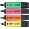 5 Star Szövegkiemelő készlet, 1-5 mm, , 4 különböző szín