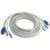 Trendnet TK-C15 PS/2 VGA M/M KVM tkábel 4.5m szürke